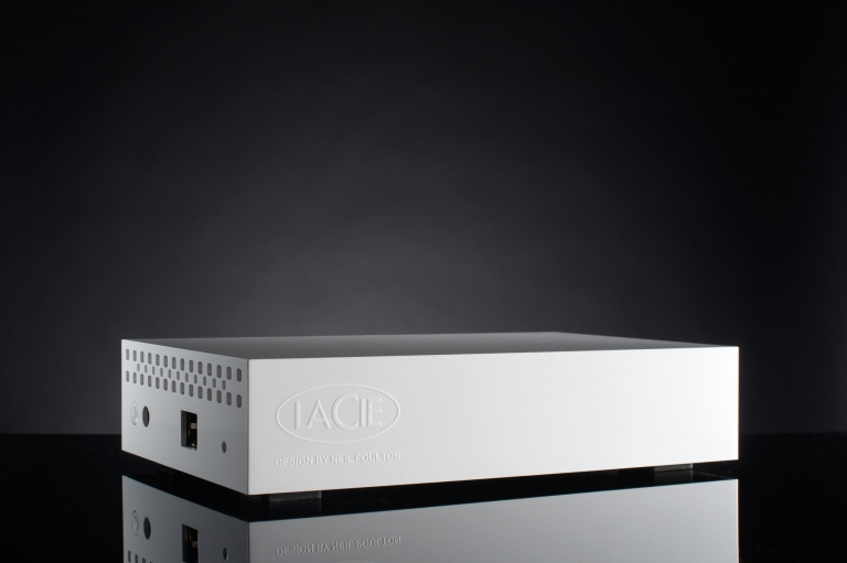 Product Photography Herefordshire - lacie hard drive