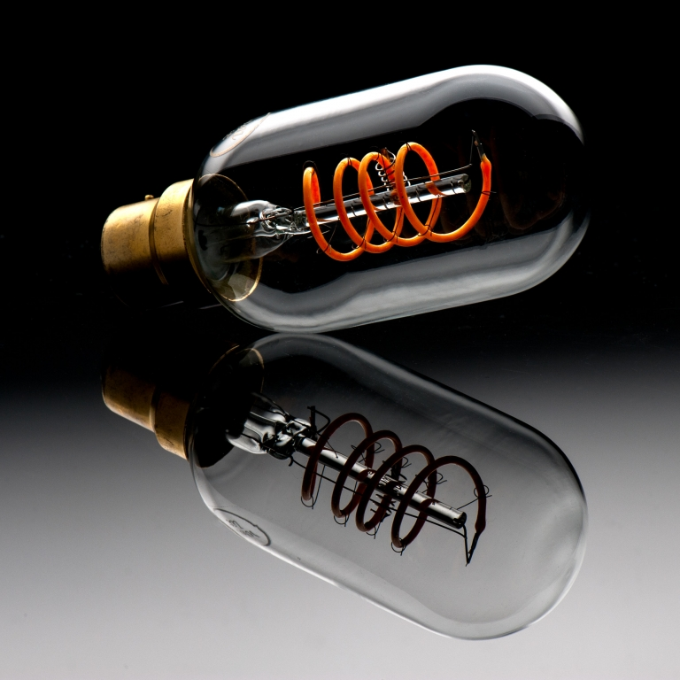 Product Photography Herefordshire - light bulb