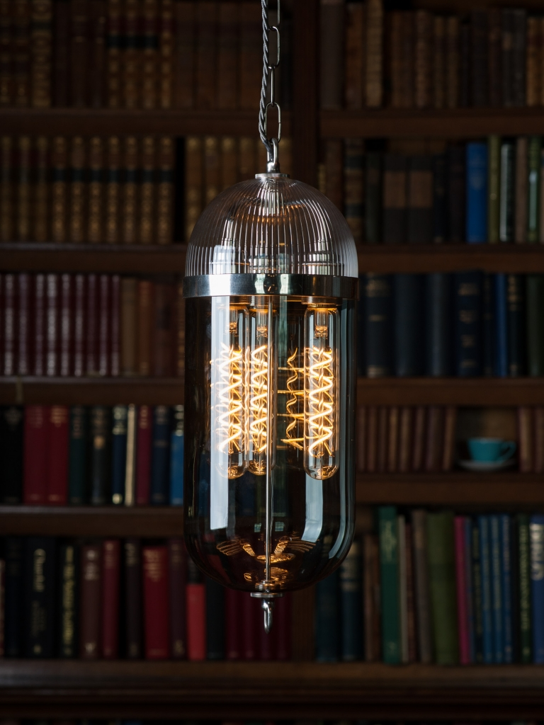 Aston Lantern in Library at Homme House