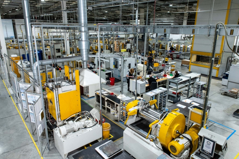 Industrial Photography Trelleborg Gloucester Factory