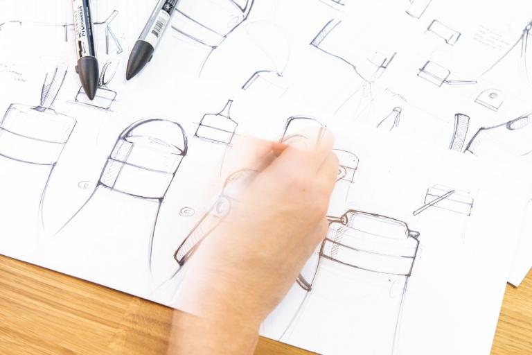Simple Design Works Hereford Office Sketching