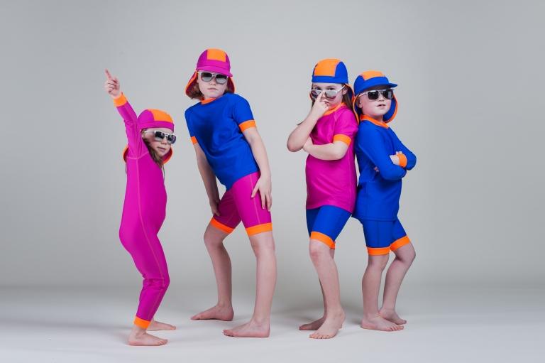 Gingerdude swimwear studio photography. Designed in Herefordshire