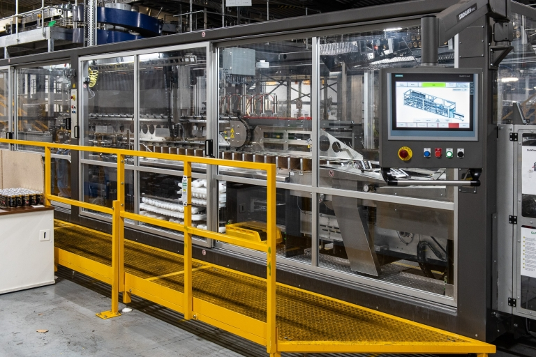 Hereford Contract Canning - packaging machine
